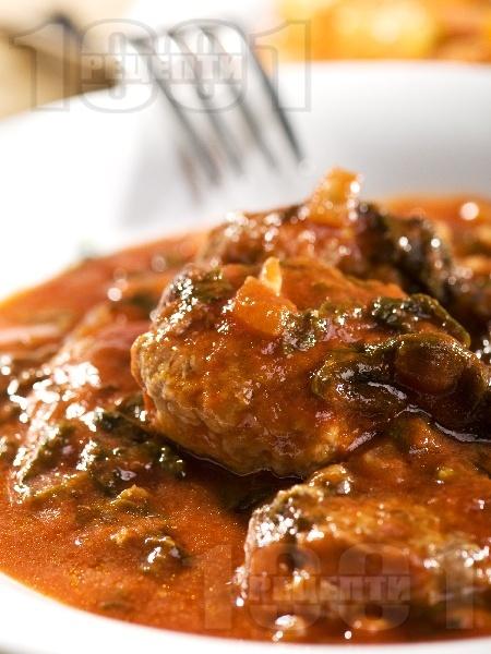 Свински кюфтета по ловджийски - снимка на рецептата